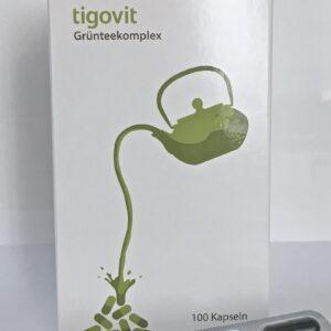 Tigovit Grünteekomplex - EGCG Kapseln enthalten hochwertigste Grüntee-Extrakte mit besonders viel natürlichem EGCG (Epigallocatechin-3-gallat), welches sonst nur in den jungen Blättern des grünen Tees vorkommt. Im Gegensatz zu herkömmlichen Grüntee-Extrakten erhöht tigovit so die Bioverfügbarkeit der natürlichen Wirkstoffe des grünen Tees deutlich.