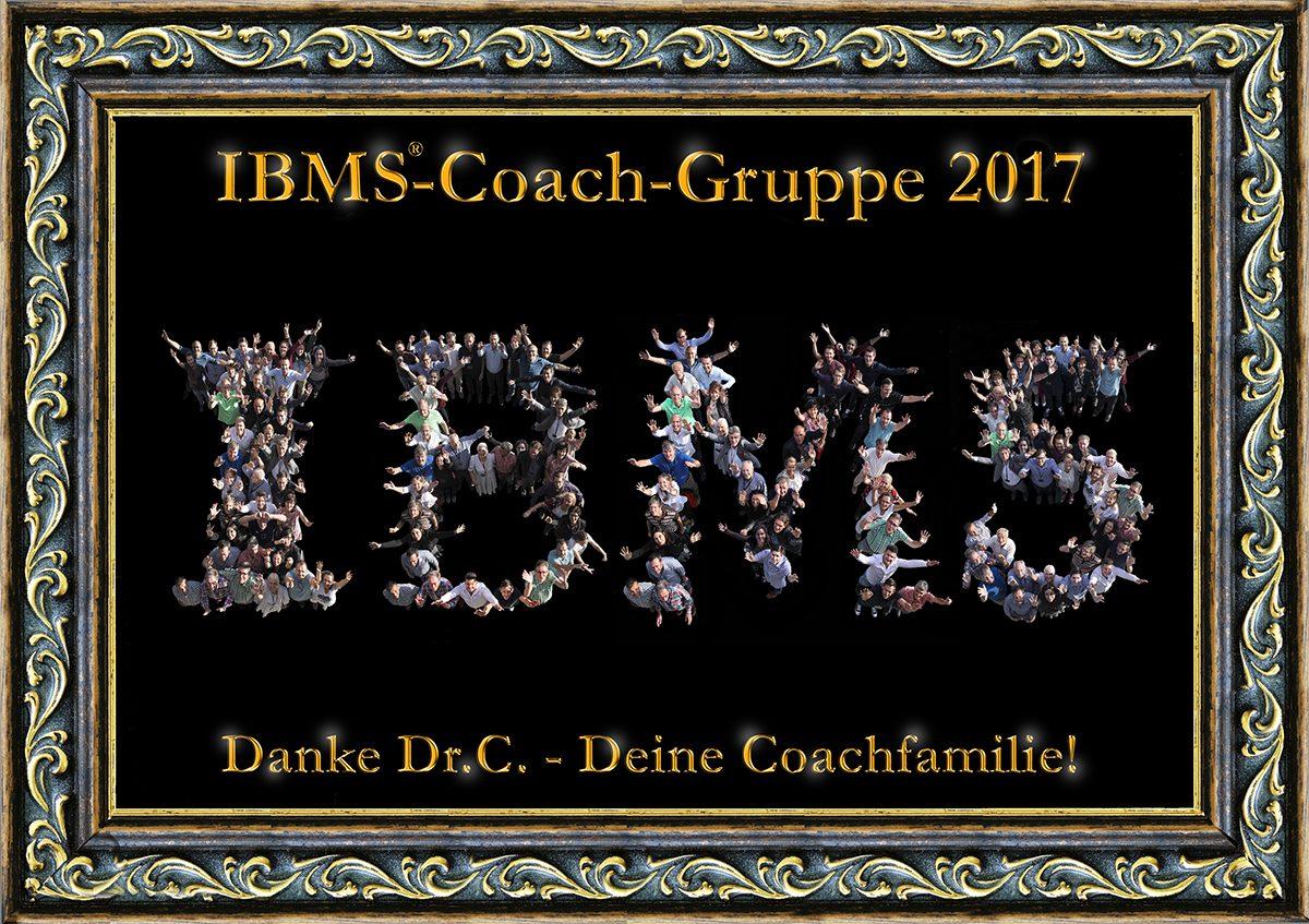IBMS Coaches Gruppe 2017 - zertifiziertes Coach-Ausbildung nach Dr. Leonard Coldwell, 3 Coaches Luzern in der Schweiz