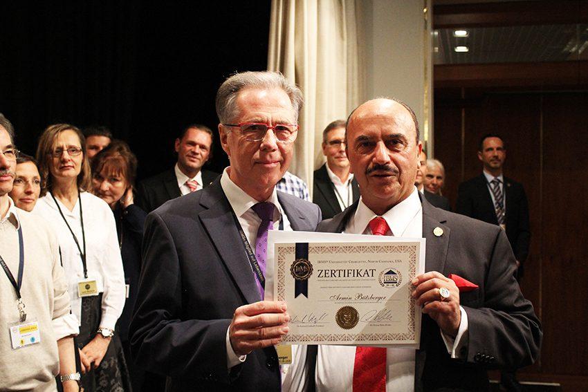 Armin Bützberger zertifizierter IBMS Coach und Dr. Leonard Coldwell besser bekannt als Dr. C