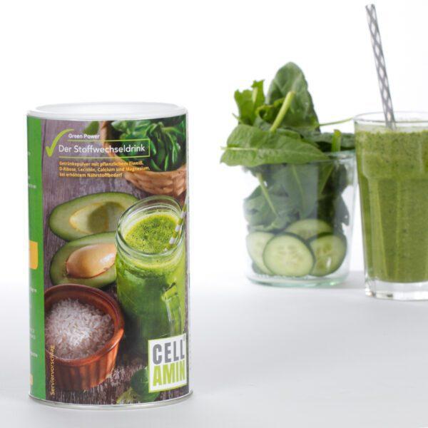 Cellamin Green Power - die intelligente vegane Nahrungsergänzung zur gesunden Ernährung jetzt online kaufen