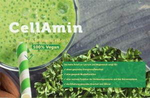 Cellamin Biohack und gesunde Ernährung mit Vitalstoffen und Superfoods