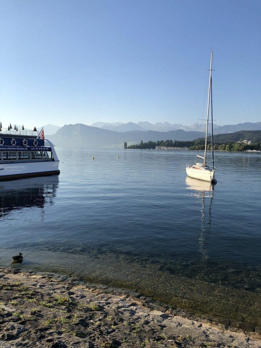Praxis 3 Coaches Luzern Seeansicht - IBMS Coaching zu Besuch in der Schweiz bei Armin Bützberger