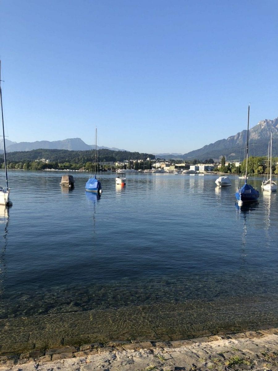 Impressionen aus Luzern am Vierwaldstättersee