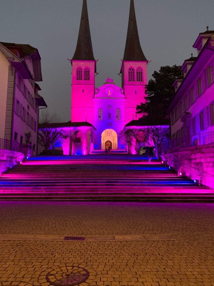 Think pink in luzern - 3 Coaches Luzern Coaching, Work-Life-Balance & Life Balancing in switzerland
