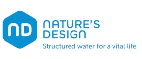 Natures Design ND strukturiertes Wasser