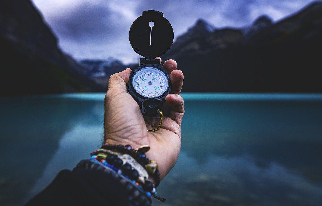Finde den Kompass für Dein Leben