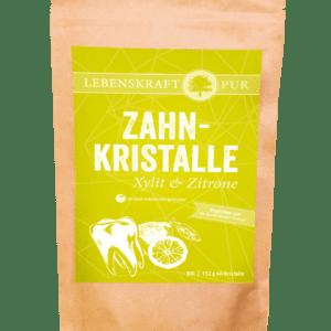 Zahnkristalle Xylit & Zitrone